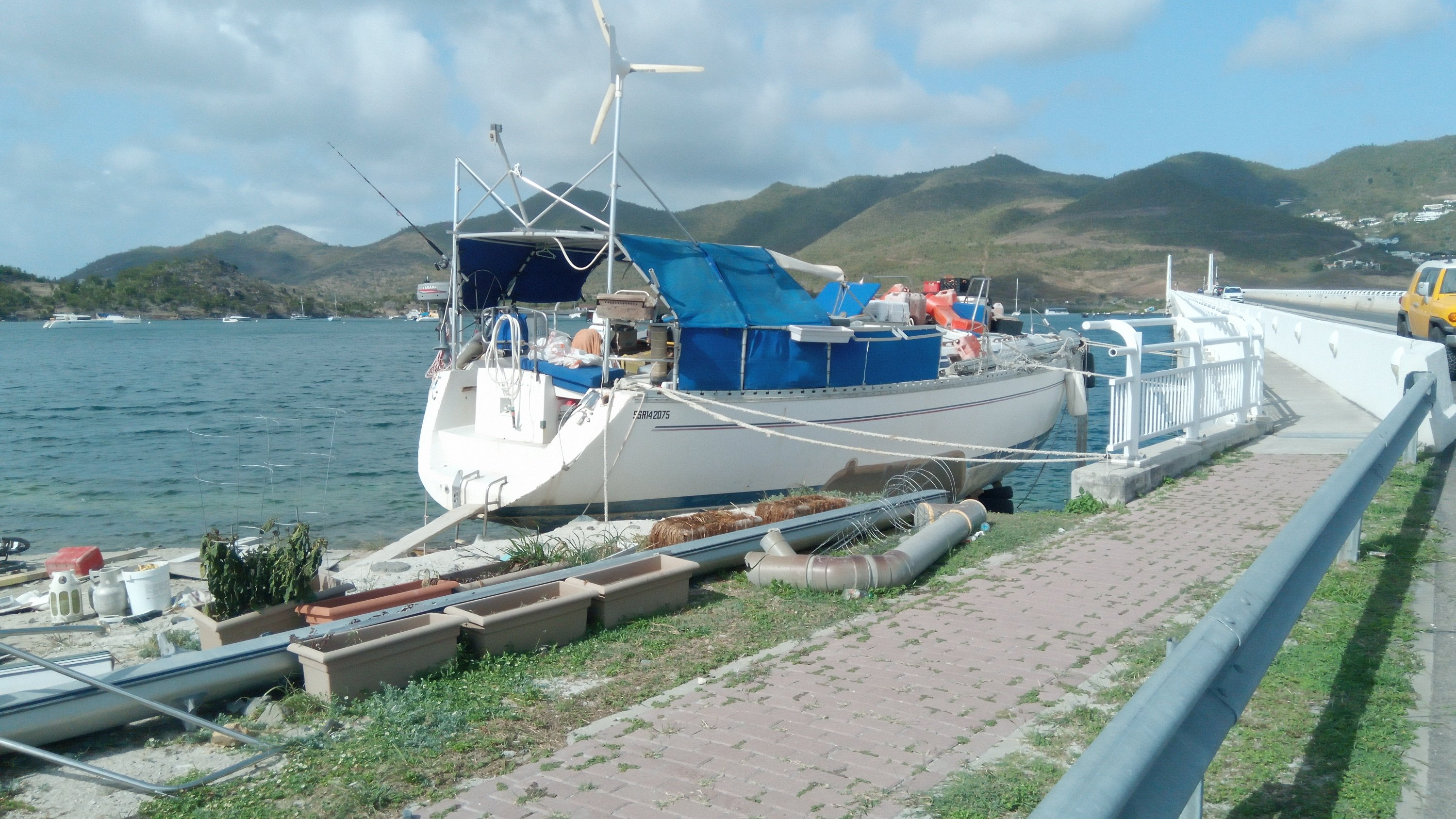 St Martín one year after the Irma hurricane…  – Captain
